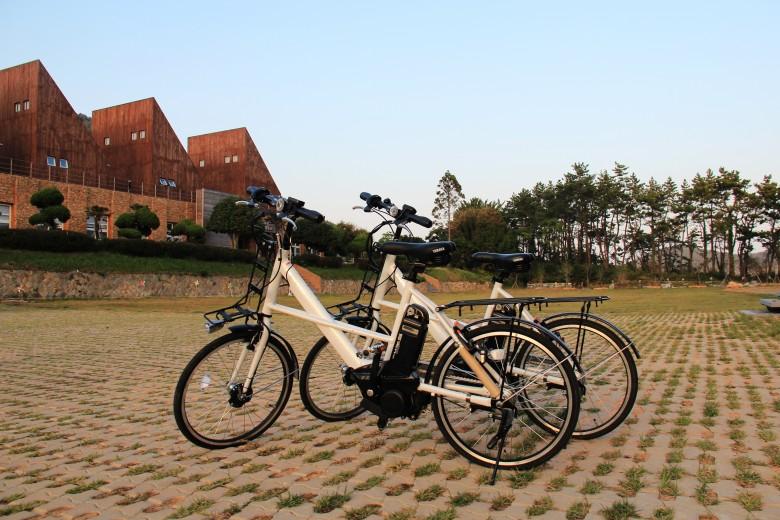 느린섬 여행학교 전기자전거