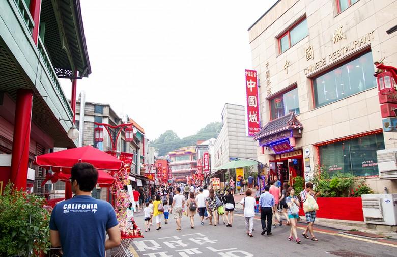 이색적인 도시를 엿보다, 인천 차이나타운 - 겟어바웃