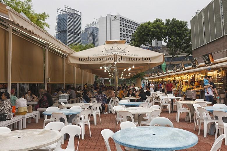 싱가포르 대표 호커센터와 식당 - 겟어바웃