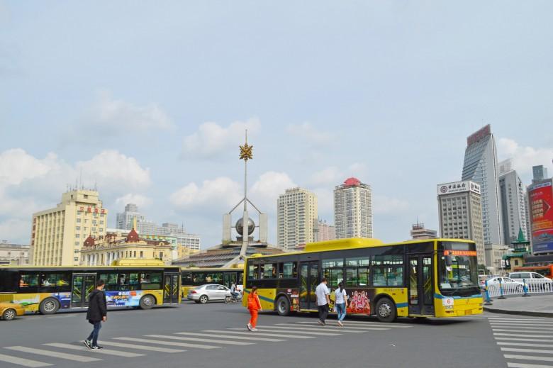 9월의 하얼빈역 주변, 중국 Photographer ⓒ 엄용선