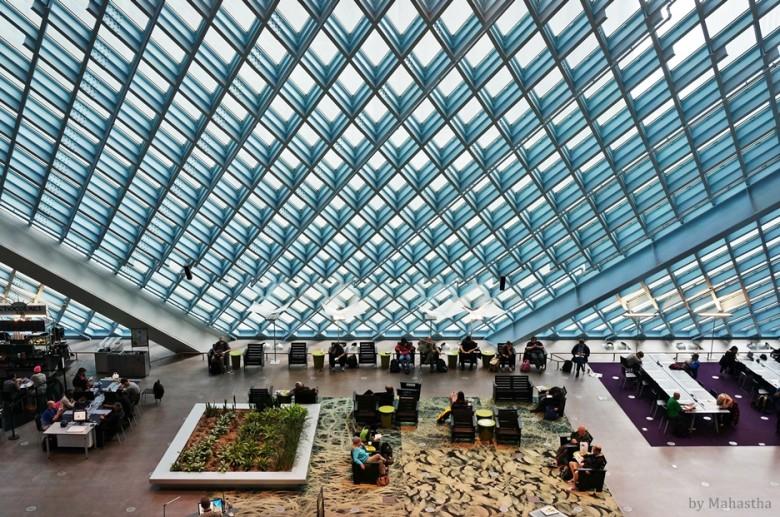 모두를 위한 21세기 도서관, 시애틀 중앙도서관 - 겟어바웃