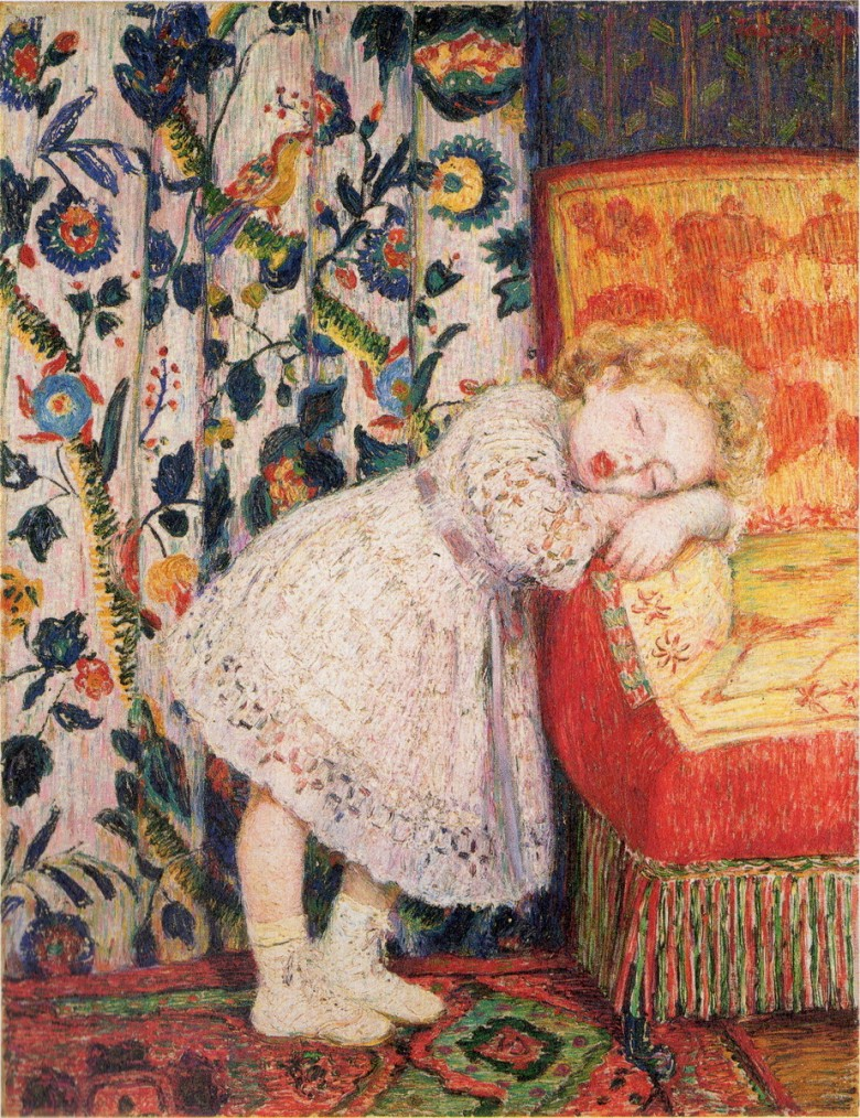 KojimaTorajirō_1912_Sleeping_Young_Model