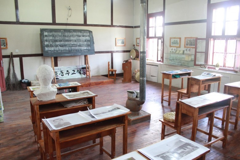 용정중학교